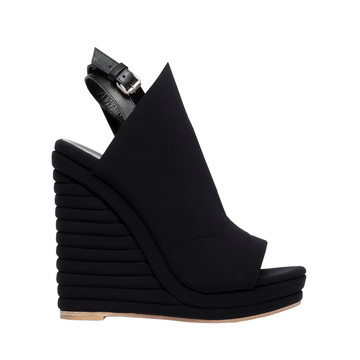 BALENCIAGA Wedge D Balenciaga Glove Neoprene Wedge Sandals f