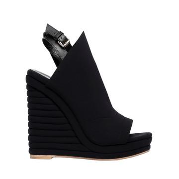 Balenciaga Glove Neoprene Wedge Sandals
