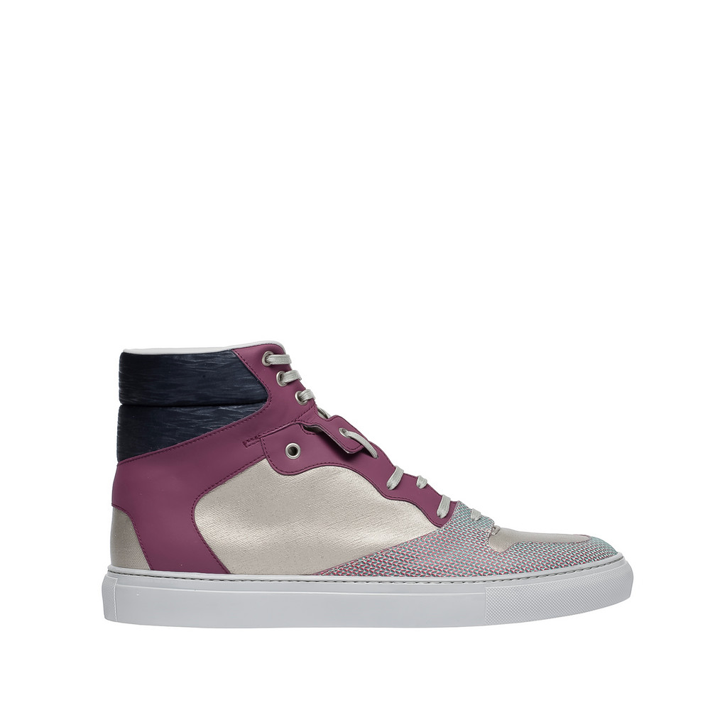BALENCIAGA Balenciaga Sneakers High-Top Chameleon Sneakers in mix di materiali U f