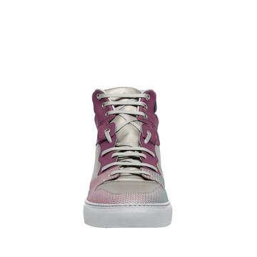 BALENCIAGA Sneaker aus Materialmix U Balenciaga hochgeschlossene Sneakers Chameleon f