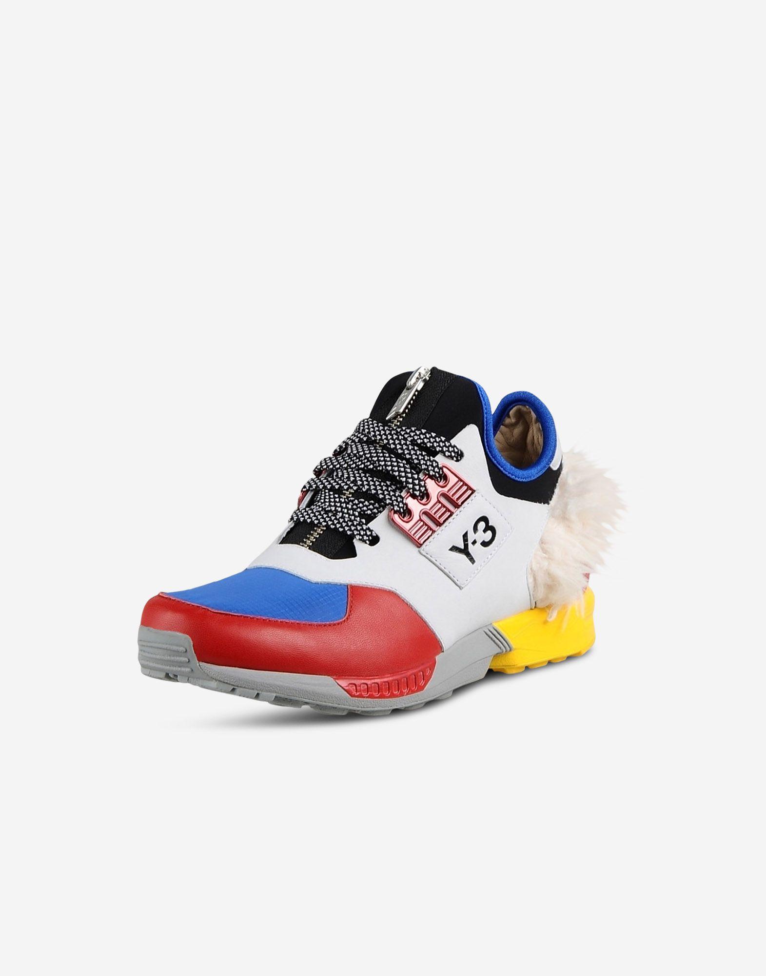 9563486a8 ... Y-3 Y-3 ZX Zip Sneakers Woman r ...