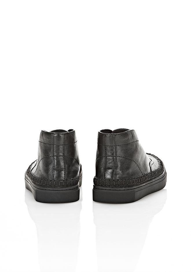 ALEXANDER WANG JESS HIGH TOP SNEAKER FLATS Adult 12_n_e