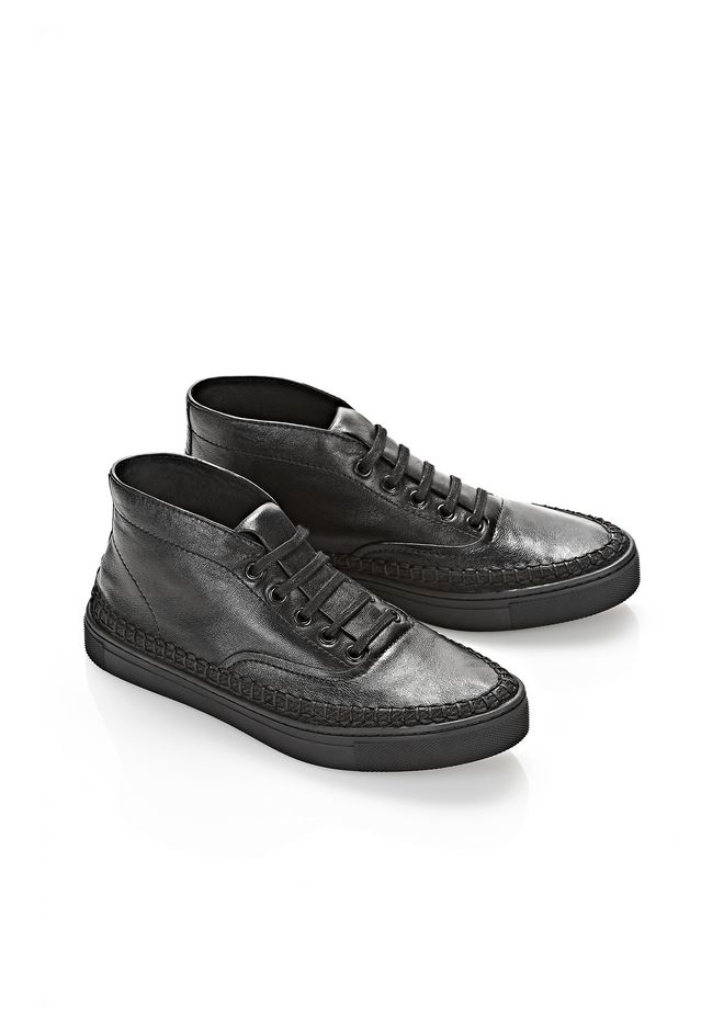 ALEXANDER WANG JESS HIGH TOP SNEAKER FLATS Adult 12_n_r