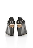 ALEXANDER WANG ALLA WEDGE WITH RHODIUM Heels Adult 8_n_e