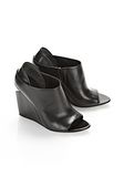ALEXANDER WANG ALLA WEDGE WITH RHODIUM Heels Adult 8_n_r