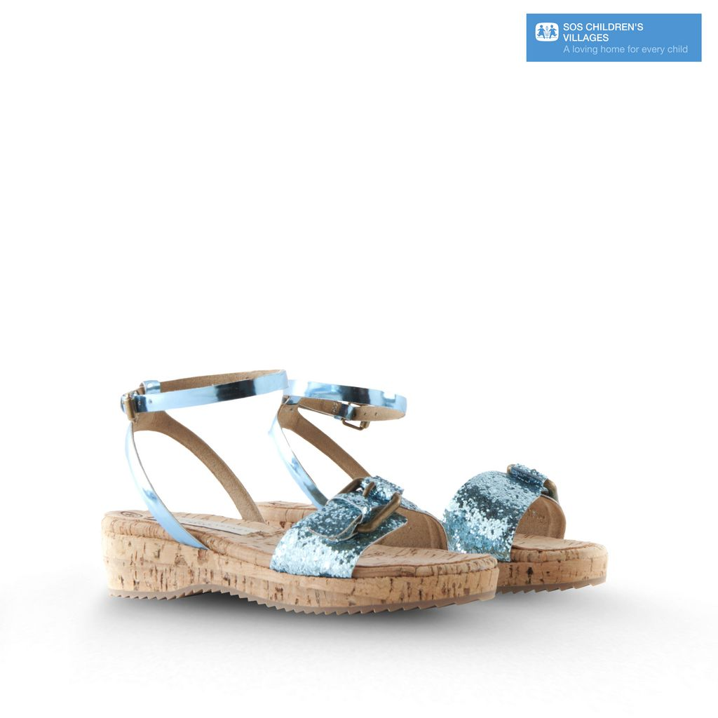 Sandales pailletées Linda - STELLA MCCARTNEY KIDS