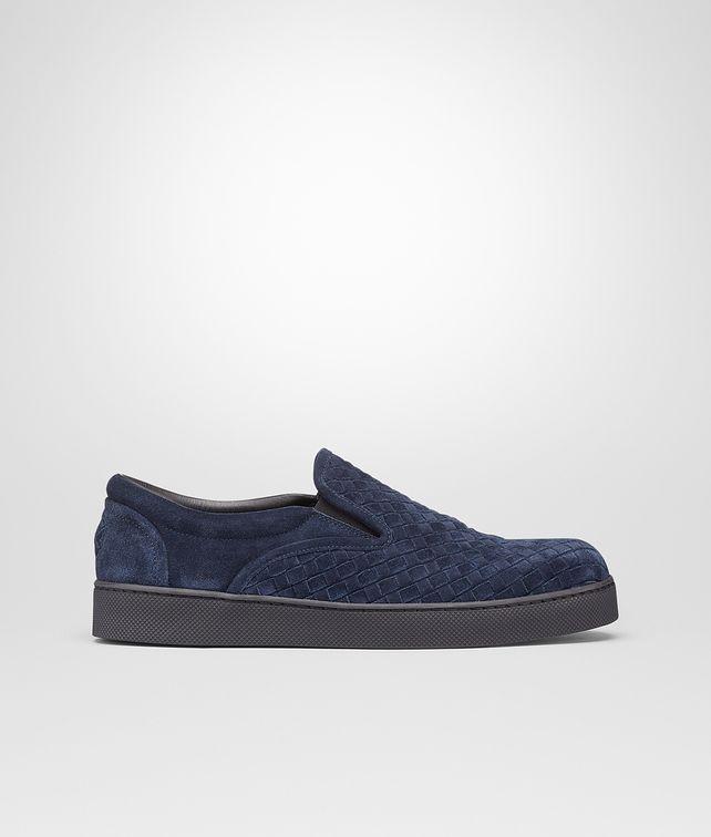 BOTTEGA VENETA Prusse Intrecciato Suede Sneaker Sneaker or Sandal U fp