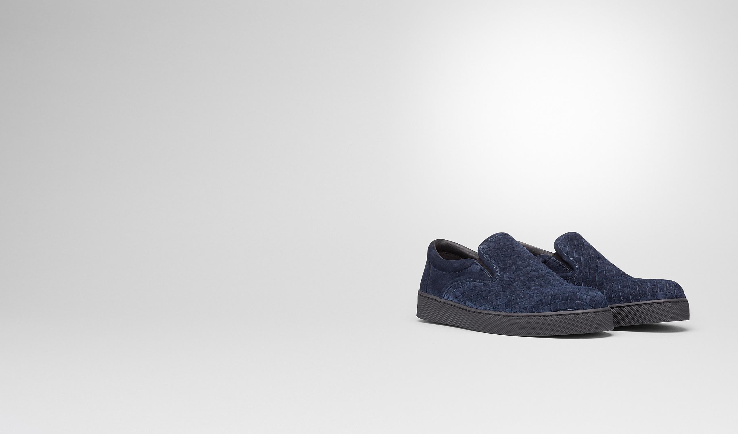 BOTTEGA VENETA Sneaker or Sandal U Prusse Intrecciato Suede Sneaker pl