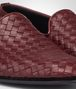 BOTTEGA VENETA OUTDOOR SLIPPER AUBERGINE IN FOULARD CALF INTRECCIATO Mocassino o pantofola U ap