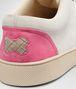 BOTTEGA VENETA Sand Mist Rosa Shock Intrecciato Suede Sneaker Sneakers U lp