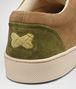 BOTTEGA VENETA Chartreuse Bronze Army Intrecciato Suede Sneaker Trainers U lp