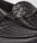 BOTTEGA VENETA NERO INTRECCIATO CALF WAVE DRIVER Mocassin or Slipper Man ap