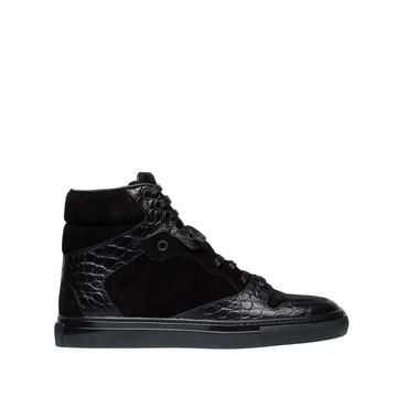 BALENCIAGA Sneaker Schuh D Balenciaga Monochrome Alligator Print Sneakers f