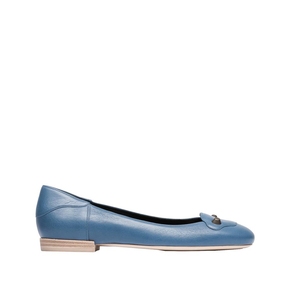 BALENCIAGA Balenciaga Classic Ballerinas Flache Schuhe D f