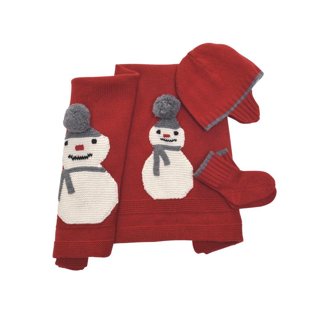 SNOWMAN SET - STELLA MCCARTNEY KIDS