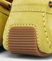 BOTTEGA VENETA New Chartreuse Intrecciato Suede Moccasin Mocassin or Slipper U ap