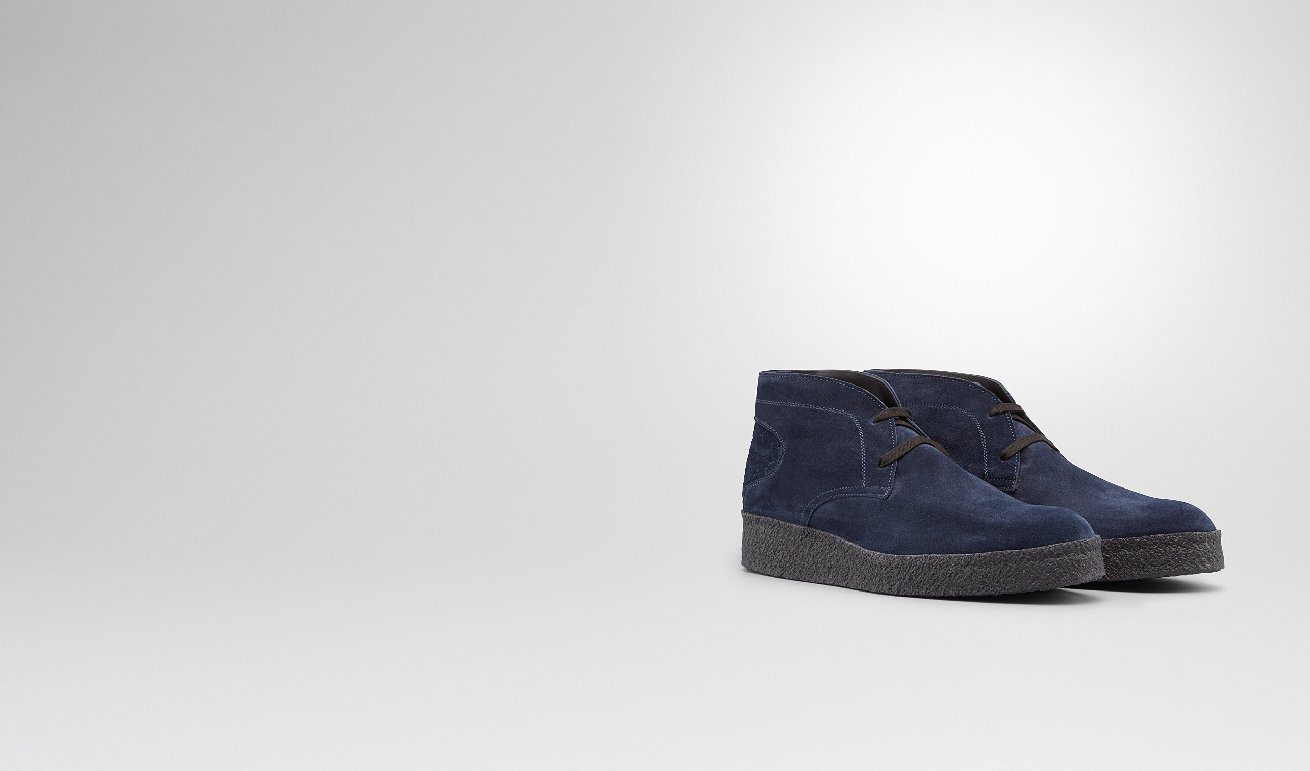 BOTTEGA VENETA Sneaker or Sandal U Prusse Intrecciato Suede Ankle Boot pl