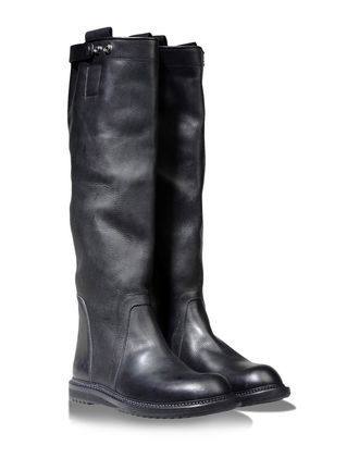 Over the knee boots - RICK OWENS