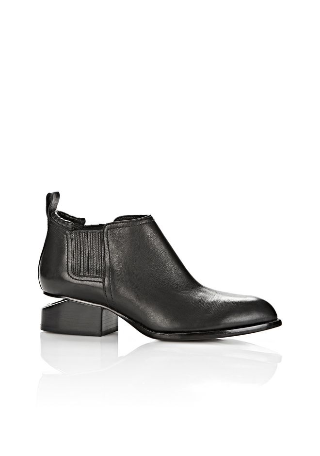 ALEXANDER WANG KORI BOOT WITH RHODIUM  Ankle boots Adult 12_n_f