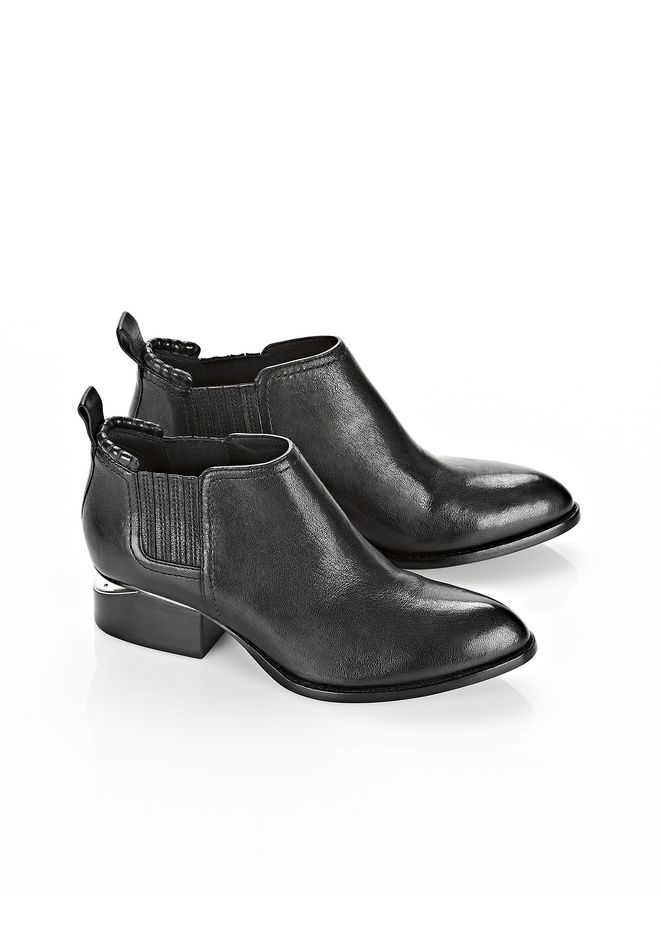 ALEXANDER WANG KORI BOOT WITH RHODIUM  Ankle boots Adult 12_n_r