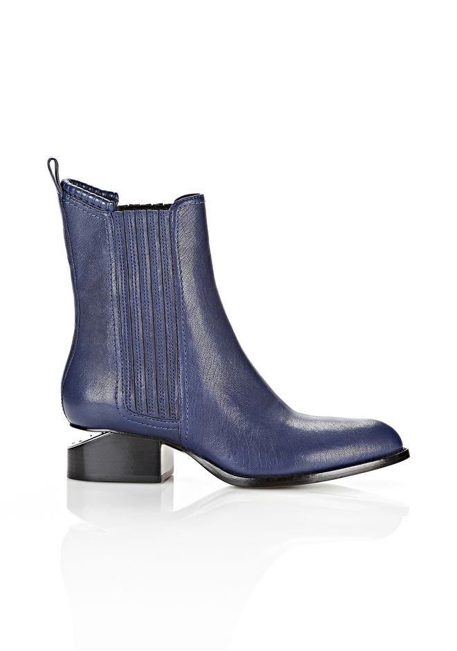 ALEXANDER WANG ANOUCK WITH RHODIUM BOOTS Adult 12_n_f