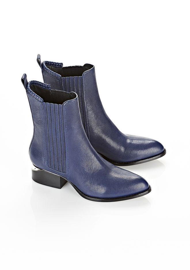 ALEXANDER WANG ANOUCK WITH RHODIUM BOOTS Adult 12_n_r