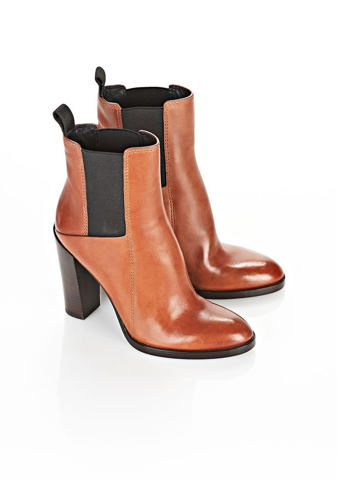 ALEXANDER WANG THEA ANKLE BOOTIE BOOTS Adult 12_n_r