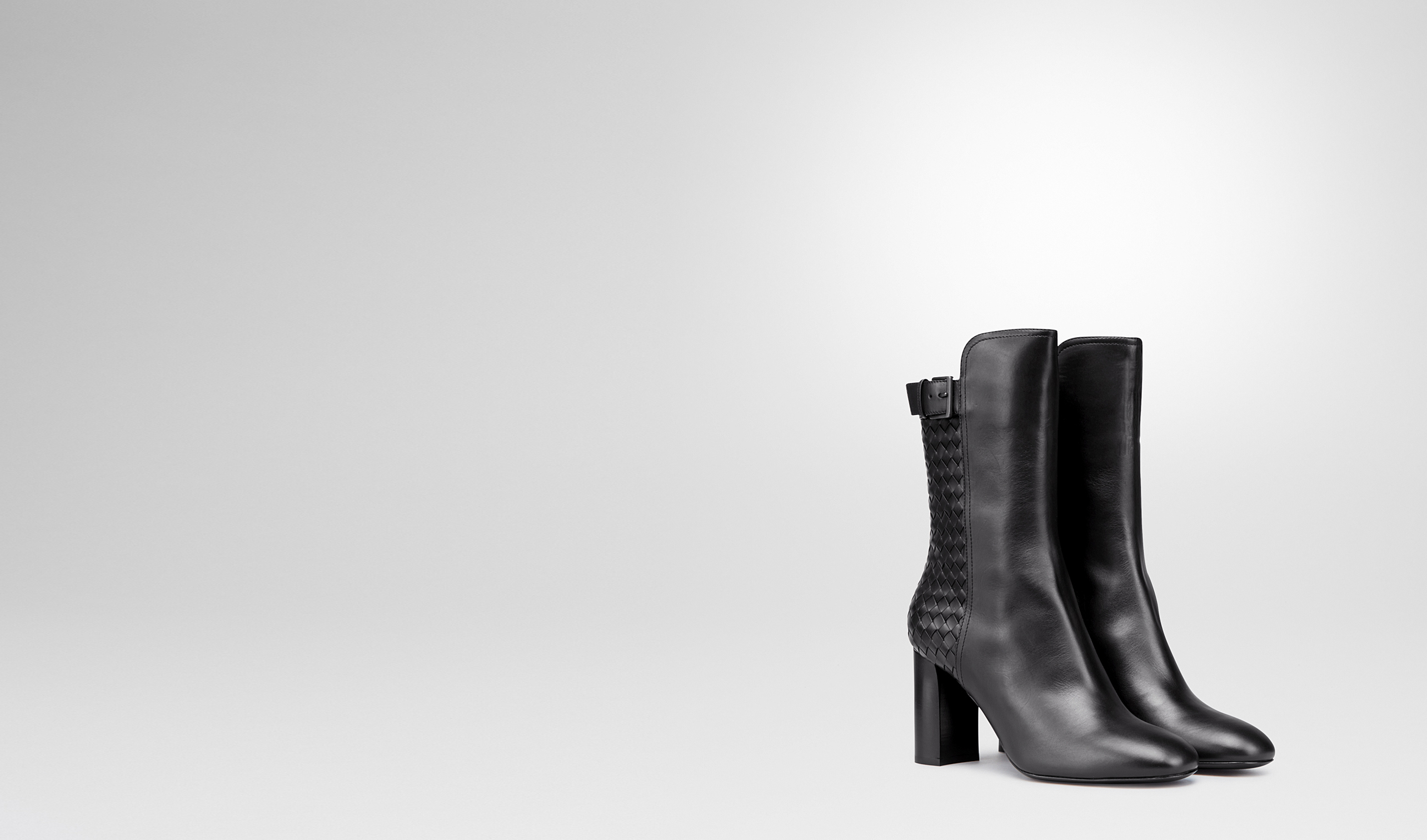BOTTEGA VENETA Boots and ankle boots D Nero Lady Calf Ankle Boot pl