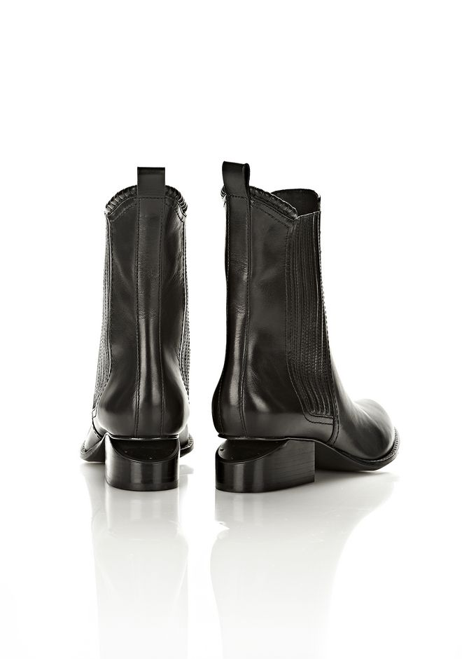 ALEXANDER WANG ANOUCK BOOT WITH MATTE BLACK  BOOTS Adult 12_n_e