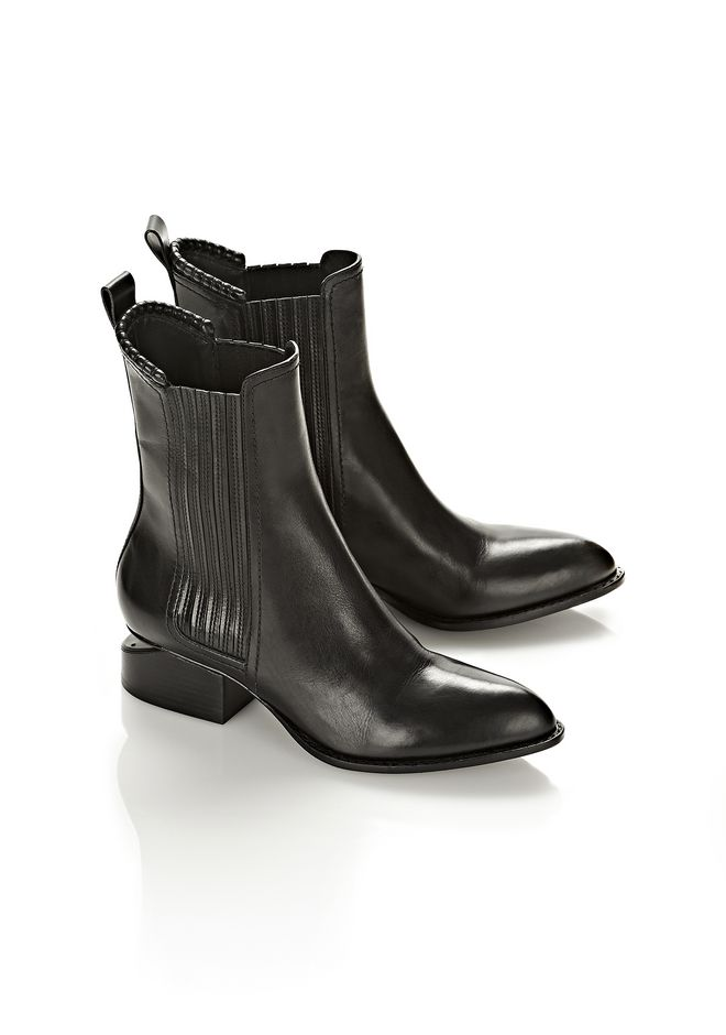 ALEXANDER WANG ANOUCK BOOT WITH MATTE BLACK  BOOTS Adult 12_n_r