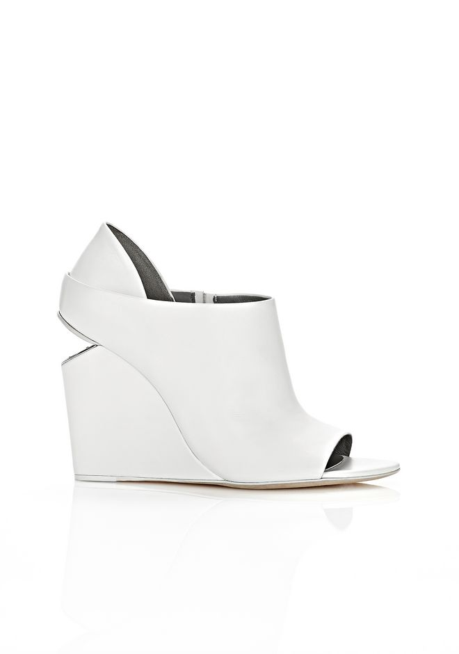 ALEXANDER WANG ALLA WEDGE WITH RHODIUM Heels Adult 12_n_f