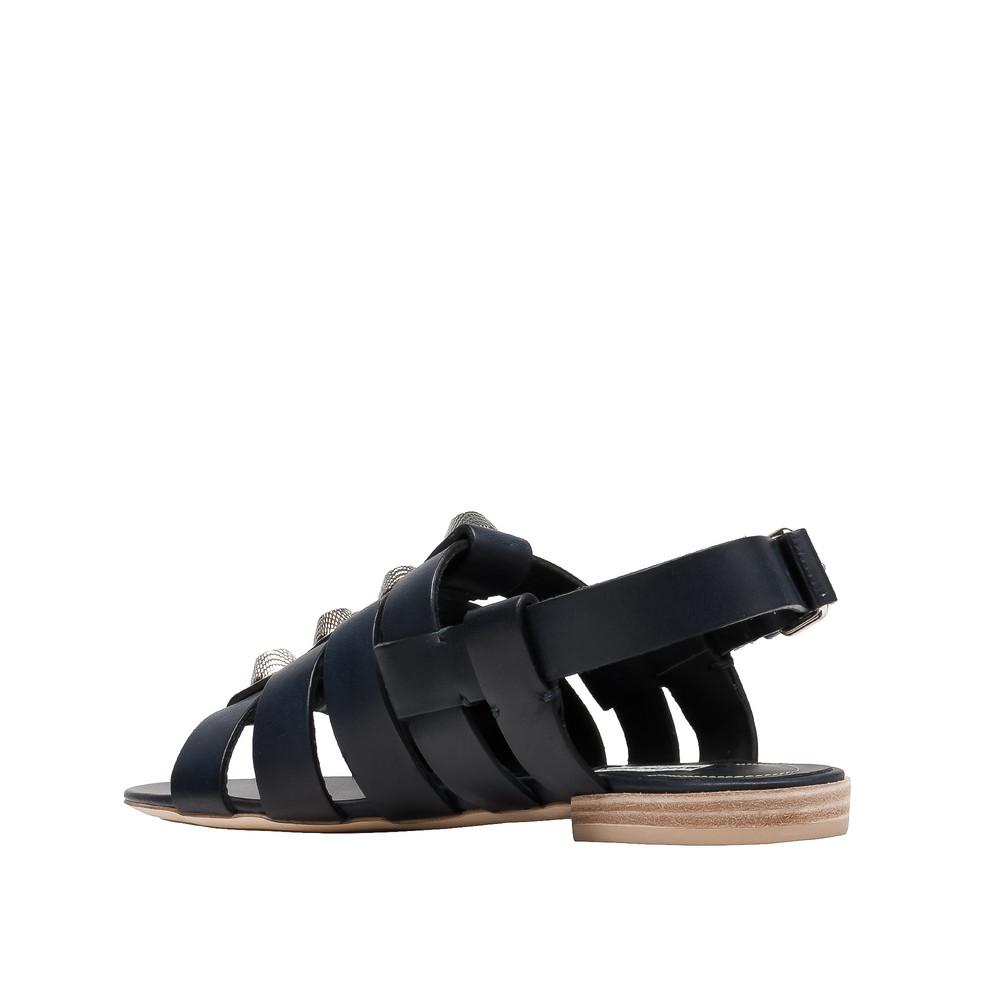 BALENCIAGA Sandal D Balenciaga Giant Silver Sandals i