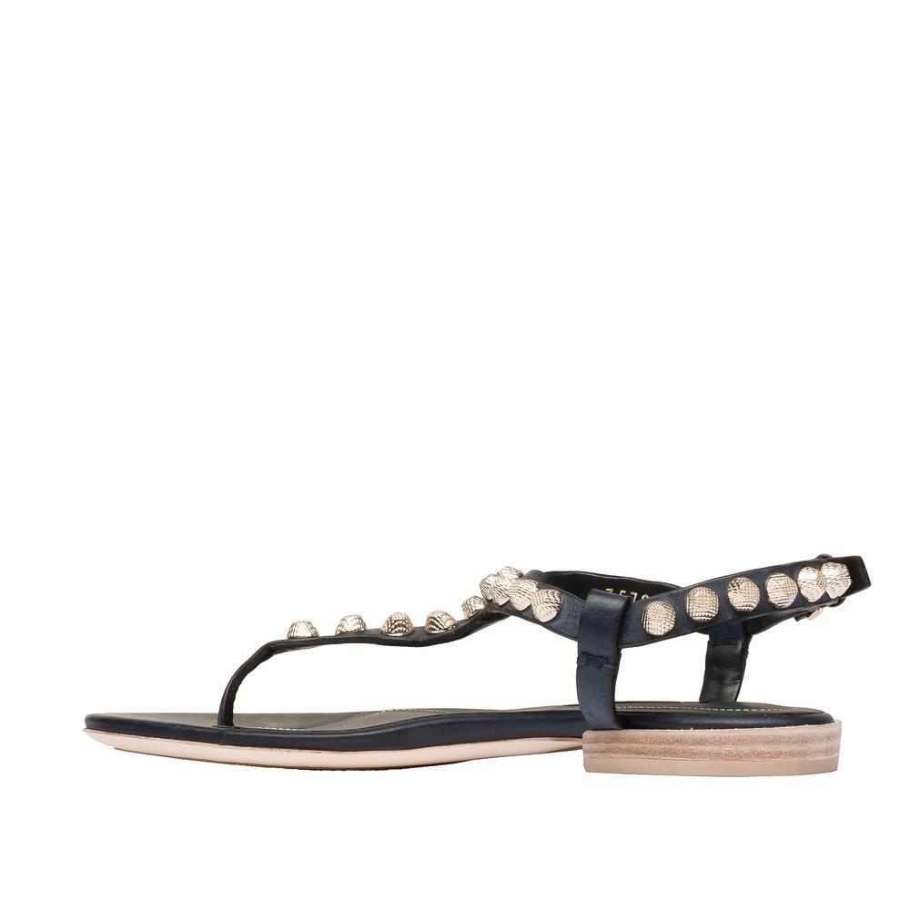 BALENCIAGA Arena Shoes D Balenciaga Giant Gold T Strap Sandals i