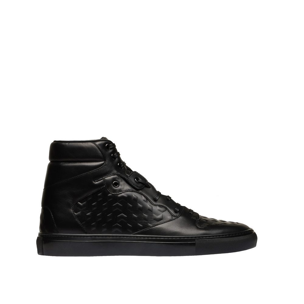 BALENCIAGA Balenciaga Monochrome High Sneakers Sneaker U f