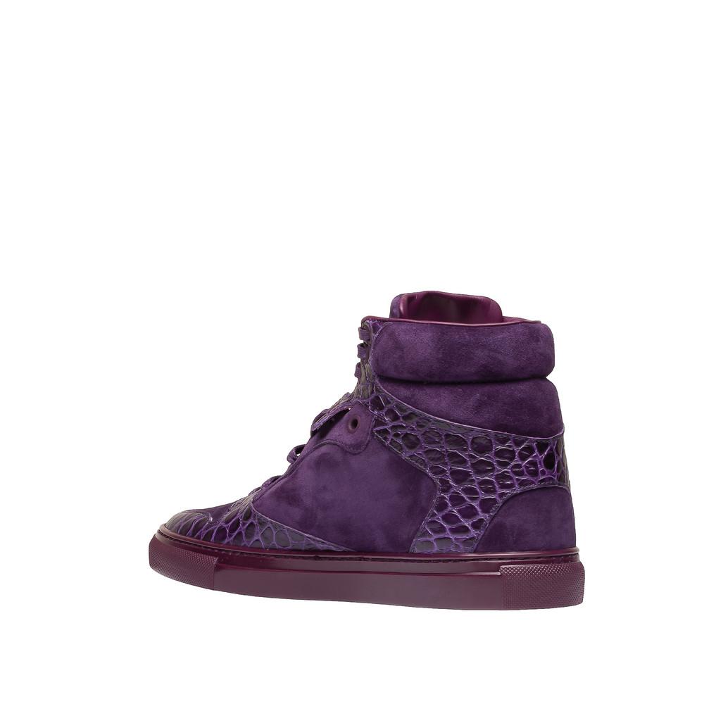BALENCIAGA Sneaker D Balenciaga Monochrome Alligator Print Sneakers i