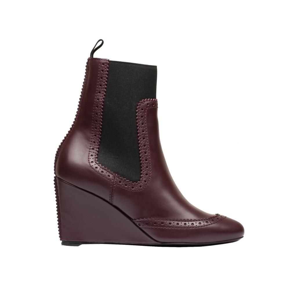 BALENCIAGA Balenciaga Brogues Chelsea Wedge Boots Ankle boot D f
