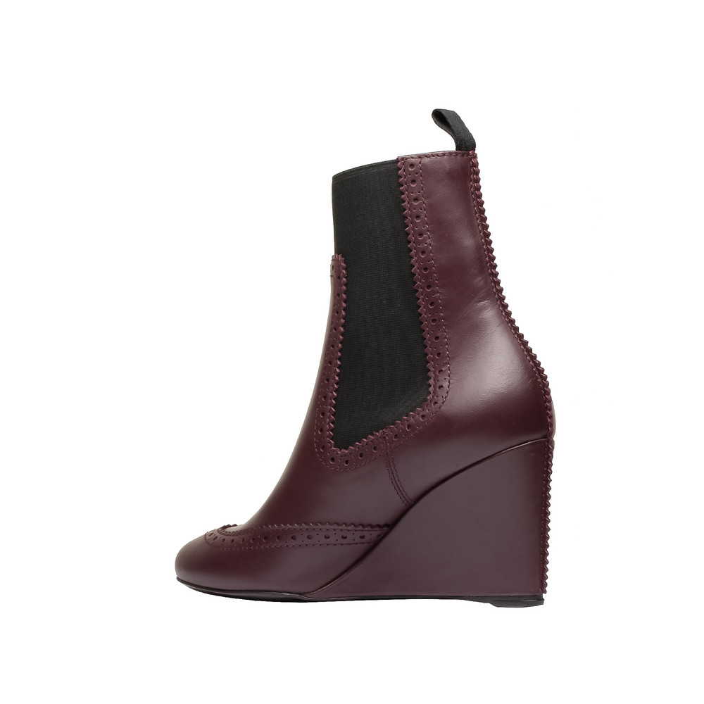 BALENCIAGA Ankle boot D Balenciaga Brogues Chelsea Wedge Boots i