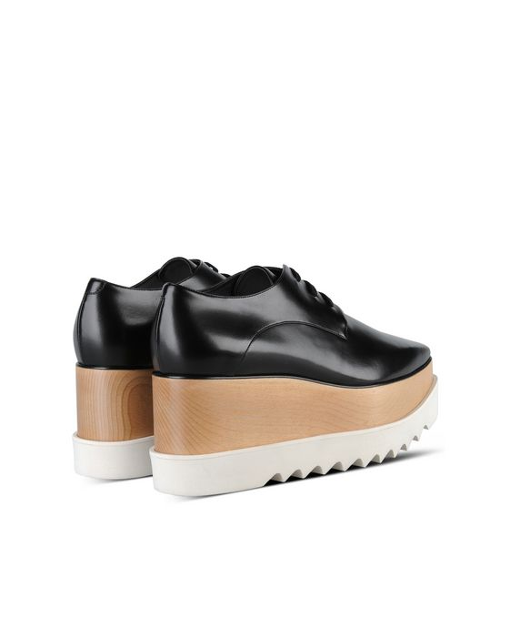 STELLA McCARTNEY Black Elyse Shoes Wedges D i