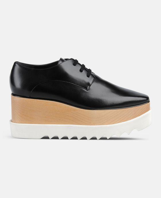 STELLA McCARTNEY Black Elyse Shoes Wedges D c