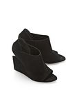 ALEXANDER WANG ALLA SUEDE WEDGE WITH RHODIUM Heels Adult 8_n_r