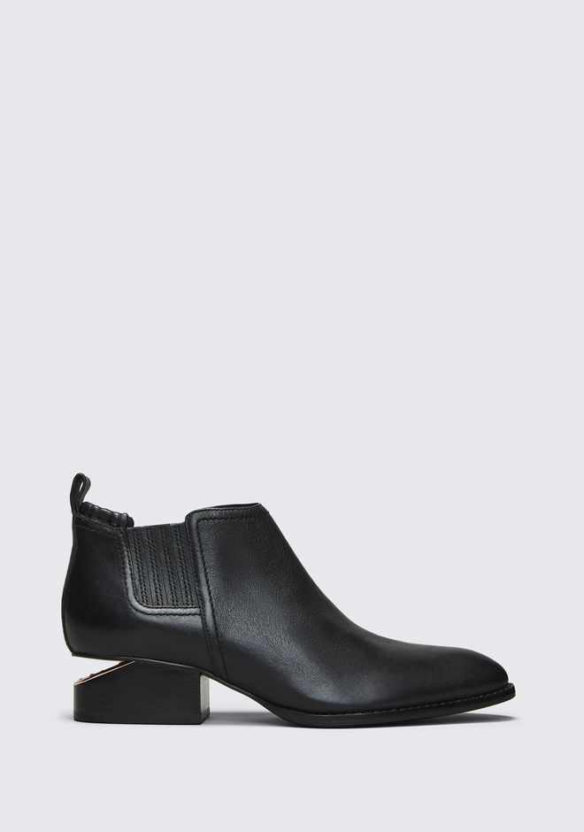 ALEXANDER WANG KORI OXFORD WITH ROSE GOLD  BOOTS Adult 12_n_f