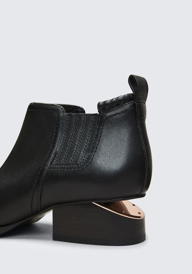 ALEXANDER WANG KORI OXFORD WITH ROSE GOLD  BOOTS Adult 12_n_r