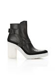 ALEXANDER WANG SEYMONE ANKLE BOOTIE BOOTS Adult 8_n_f