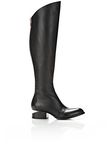 ALEXANDER WANG SIGRID BOOT WITH ROSE GOLD BOOTS Adult 8_n_f
