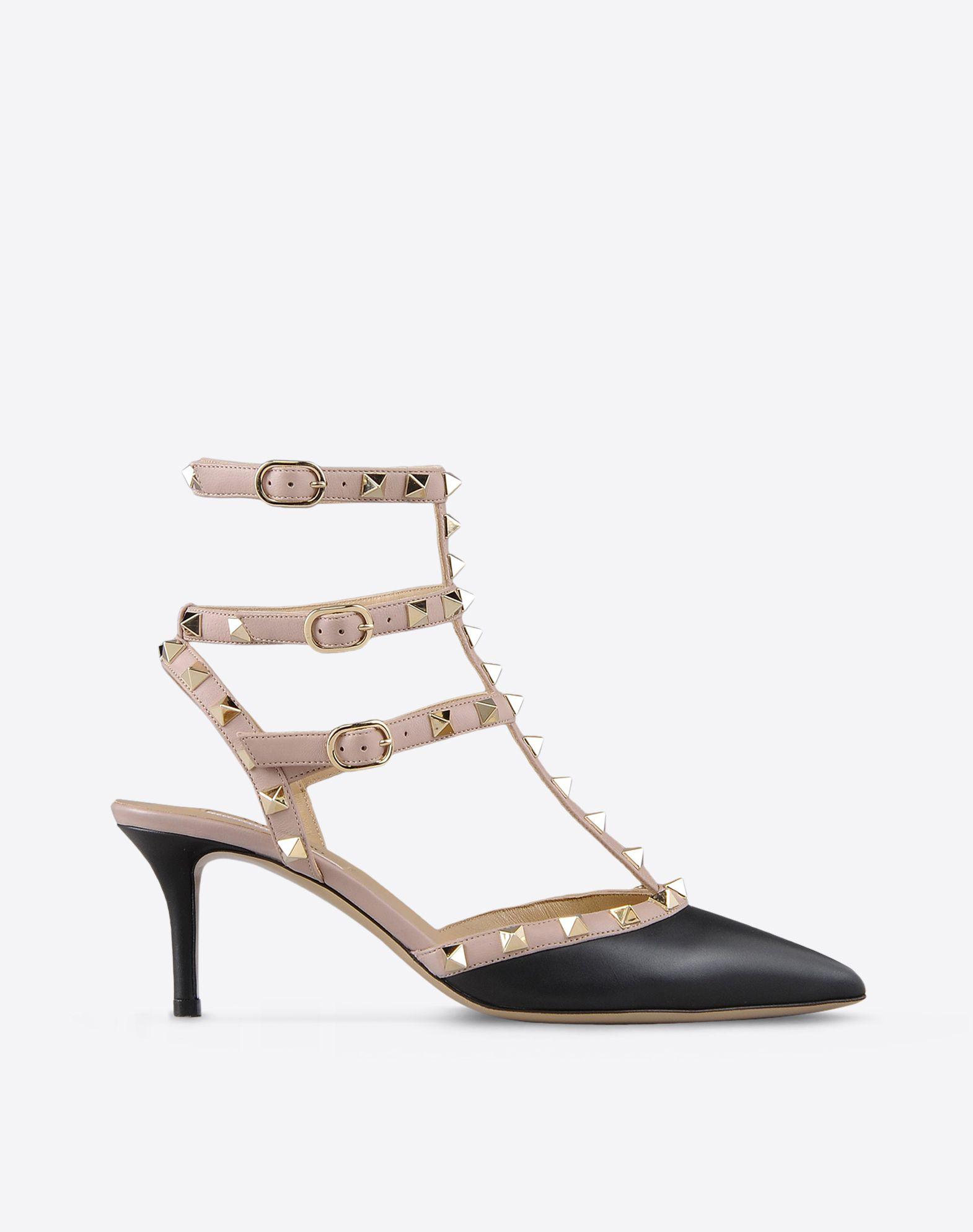 Valentino Garavani Rockstud ankle strap pumps - Black Valentino D8UTuF924