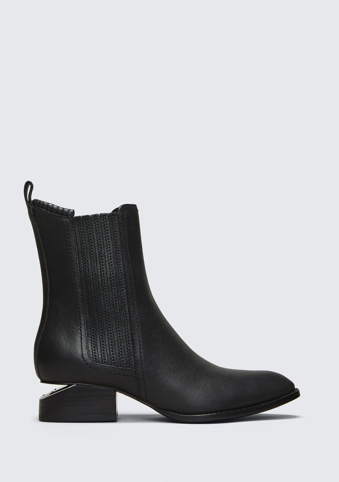 ALEXANDER WANG classics ANOUCK BOOT WITH RHODIUM