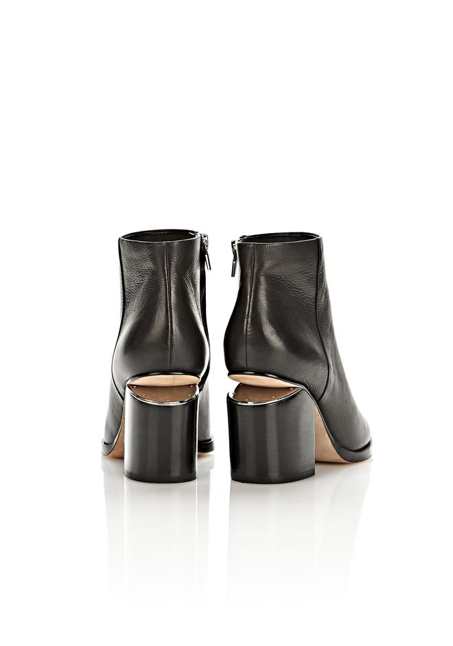 ALEXANDER WANG GABI BOOTIE WITH RHODIUM BOOTS Adult 12_n_e
