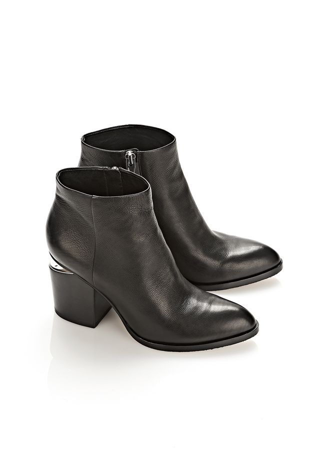 ALEXANDER WANG GABI BOOTIE WITH RHODIUM BOOTS Adult 12_n_r