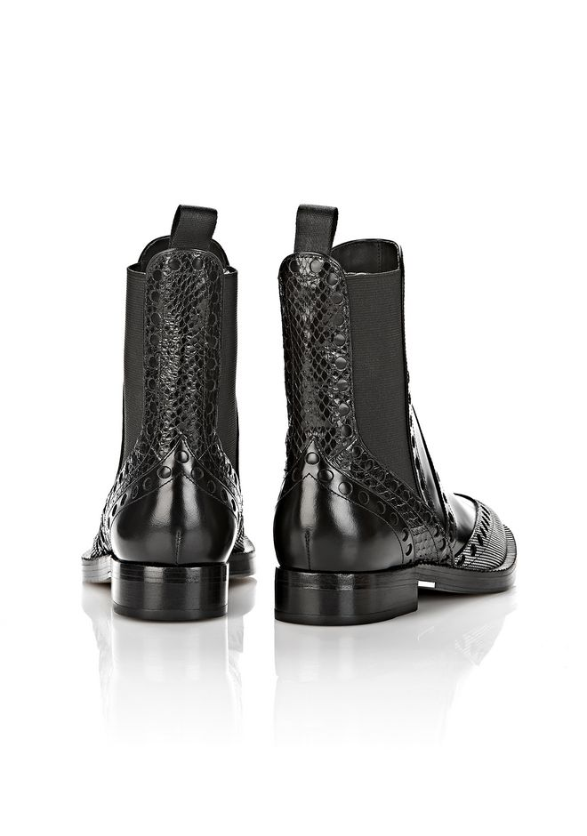 ALEXANDER WANG NICOLE BROGUE BOOT BOOTS Adult 12_n_d