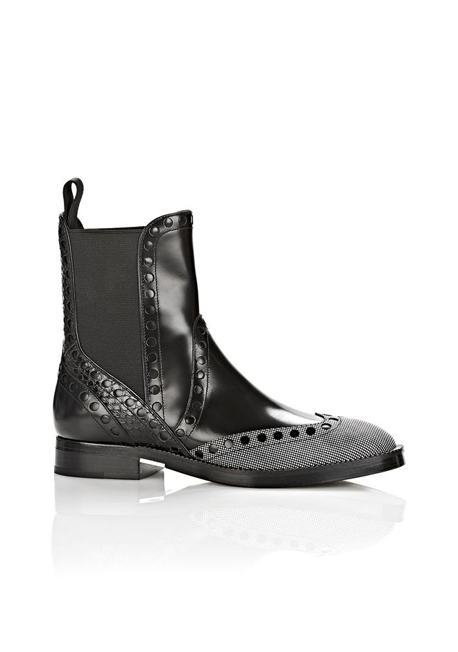 ALEXANDER WANG NICOLE BROGUE BOOT BOOTS Adult 12_n_f
